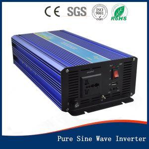 1500W 12V/24V/48V DC/AC/110V/120V/220V/230V/240V da onda senoidal pura Inversor de Energia Solar