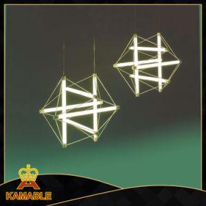 Design moderno de Vidro Ferro pendurar candeeiros pendente (KA9172P/L prata)