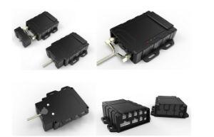 Gvt600 3G Rastreador GPS para a gestão da frota de veículos automóveis em tempo real, aplicativos móveis/ rastreamento de PC, 3G alarme de colisão do acelerómetro