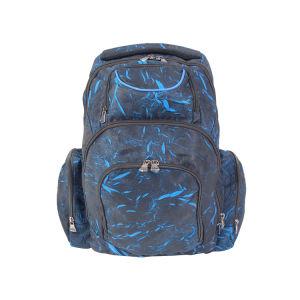 Sac à dos pour l'école, résistant à l'eau de base classique Daypack occasionnel pour le voyage avec une bouteille poches latérales