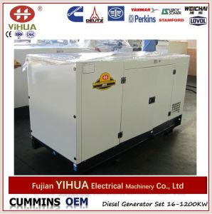 Type groupes électrogènes diesel 24kw d'écran de Foton Isuzu