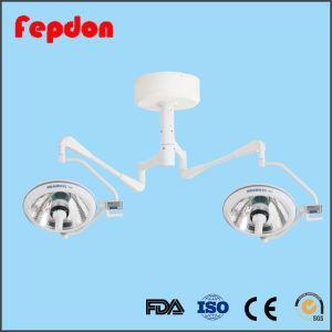Shadowless doble cabeza de las luces de funcionamiento de la halógena (ZF500500)