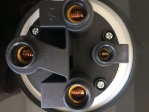 Фланцевый разъем с прямой монтажную пластину 63 A, 380-415V/2p+N+E/6h/IP67 заподлицо в стену прямо