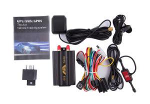 GPS Tracker automático de corte de encendido remoto, Sensor de impacto, la alarma de puerta