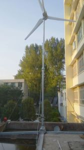 van-Grid/on-net de Turbine van de Wind van de As van Horizonal van het Systeem 2kw voor Huis en Landbouwbedrijf