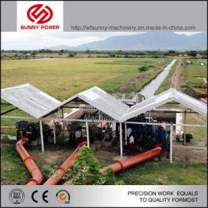 La unidad de bomba de 5-8 pulgadas de agua con motor Diesel para la Agricultura Riego
