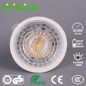 GU10 LED Lampen-Scheinwerfer der Birnen-7W Dimmable PMMA des Objektiv-LED