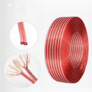 Áudio de PVC de alta qualidade o fio do alto-falante do cabo do alto-falante