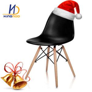 싼 나무다리 의자 플라스틱 PP 아BS 다채로운 식사 의자 Eames Dsw Dar 의자