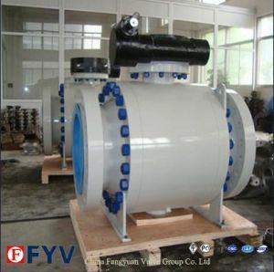 Instalação do munhão de aço forjado API da Válvula de Esfera