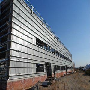 Edificio Industrial prefabricados de estructura de acero de construcción del taller