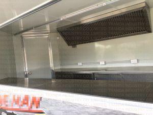 Торговый автомат UL Eecstreet ISO Ce Carts трейлер торгового автомата улицы нержавеющей стали