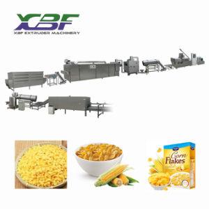 Gluten-freier Massenfrühstückskost- aus GetreideCorn- FlakesProduktionszweig