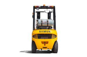 Gasolina LPG Forklift 1.5-3.5ton Gruas Horquilla Caretillas Contrapesadas Autoelevadores