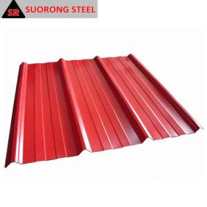 La lamiera di acciaio/mattonelle di tetto ondulate galvanizzate/ha ondulato lo strato del tetto