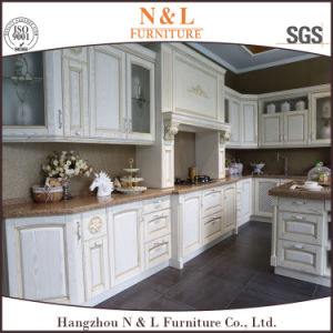 N & L\'Italie classique des armoires de cuisine en bois massif de ...