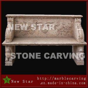 庭のための石造りのMarble Long Bench、Stone Chair