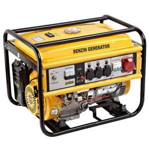 5kw générateur à essence électrique jaune Générateur triphasé