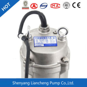 2,2 kw ss de la bomba eléctrica sumergible de aguas residuales