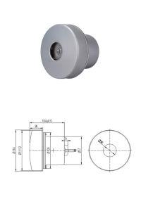 16500rpm del motor de CC Aspirador de alta eficiencia del colector de polvo