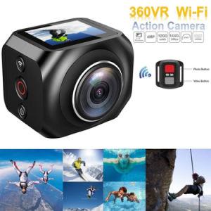 完全なHDは360度のカメラVr 3D小型DV WiFi 16MP 4Kの処置のカメラVr360を遊ばす