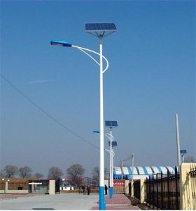 옥외 공급자 6m 30W 태양 LED 가로등