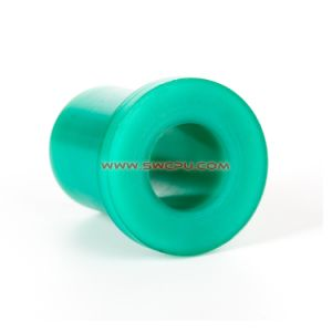 Custom PA usinagem CNC Luva revestidos com plástico / barra de torção da Bucha do Flange