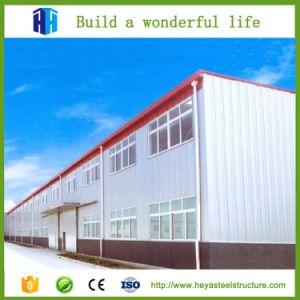 Prefabricados de estructura de acero de gran altura de dos pisos, proyecto de construcción