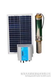 1380W CC de la pompe à eau submersibles solaire solaire de la pompe haute pression pompe à eau solaire