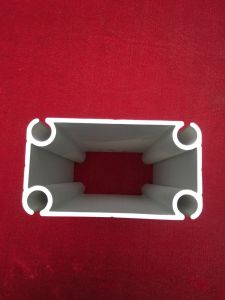 Goede Kwaliteit die de Zilveren Profielen van het Aluminium voor het Afbaarden anodiseren