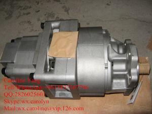 El culo de la bomba'y Komatsu 705-53-31020----hecho Cargador de Komatsu Wa600 Bomba de engranaje hidráulica piezas de repuesto.