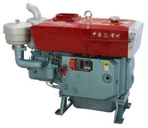 De draagbare Enige Goedgekeurde Dieselmotor van de Cilinder met ISO19001 (ZS1110)