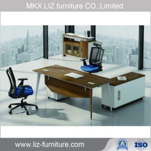 Modernos Muebles de Oficina Ejecutiva de la tabla de madera en forma de L Oficina Manager (CM74).