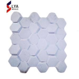 3Dシリコーンの壁パネル、装飾的な石の人工的な壁パネル型