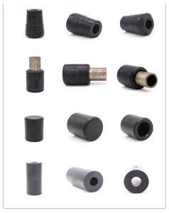 Maquinaria agrícola de amortiguador con el tubo de acero Prodcut de goma