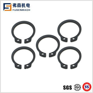 Anelli elastici del nero del acciaio al carbonio DIN471/300