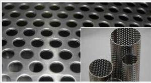 Tubo perforado para filtros