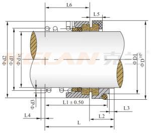 120 de Mechanische Verbinding van de Pomp van de reeks (KL120-25)
