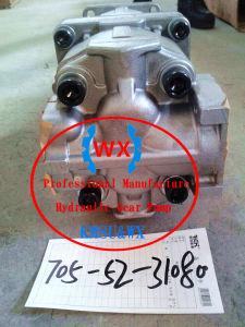 OEM Cargador de Komatsu Wa420. Bomba de engranajes: 705-52-30550 piezas de repuesto