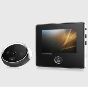 Nuevo tipo Smart Digital pequeña puerta con mirilla Visor de Material de aleación de zinc