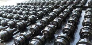 La machinerie de construction de l'excavateur châssis porteur de nivelage des pièces rouleau de transporteur / rouleau supérieur / rouleau supérieur de la KATO HD850