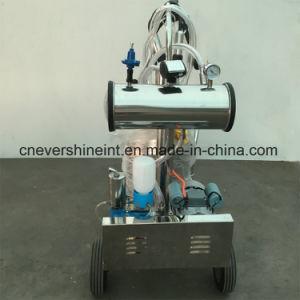 牛搾り出す機械単一のバケツの真空ポンプの搾乳器