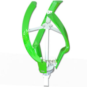 Greef pequeno eixo vertical da turbina eólica 200W