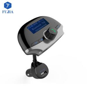 De Zender van de FM van de Auto van Bluetooth met AudioTF van de Uitrusting van de Auto van de Voltmeter van de Ontvanger van de Adapter Draadloze Handsfree Kaart Aux USB 1.44 Spel van de Omslag van de Knoop EQ van de Vertoning on/off