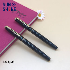 Wholsale 롤러 펜 사업 선물 검정 금속 펜