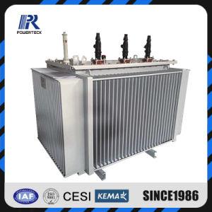 Poteau monté joint hermétiquement transformateur de distribution d'huile du transformateur de puissance