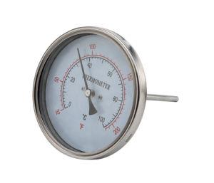 Корпус из нержавеющей стали для указатель температуры воды промышленных термометр обратно связи