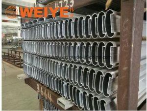 Fábrica de Foshan liga de alumínio extrudados corrimão de perfil