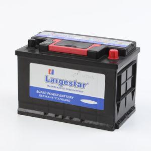 Fabricante de buena calidad DIN Mf75 12V 75Ah batería del coche