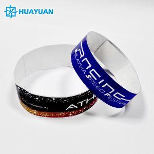 d9bdecc8ad5c precio de fábrica de papel Tyvek pulseras RFID resistente al agua para  conciertos